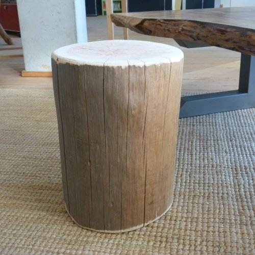 tabouret en rondin de douglas ralis par bois robert 89 - Table De Jardin En Rondin De Bois